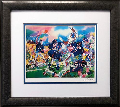 "LeRoy Neiman ""Giants vs. Broncos"""