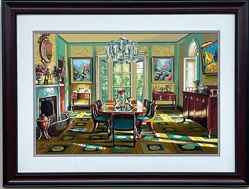 """Anatoly Metlan """"Homage to Van Gogh """" Hand Signed Limited Edition Serigraph"""