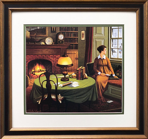 "Charles Wysocki ""Her Captain's Wistful Letter"""
