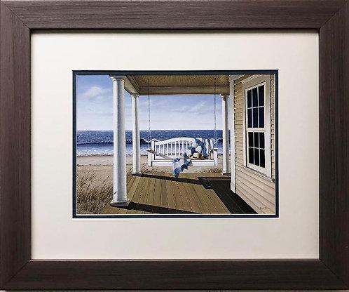 "Daniel Pollera ""Soft Winds"" New CUSTOM FRAMED Art"