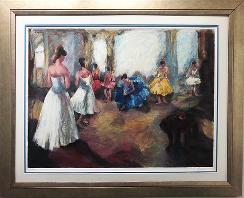 "Hadva Ferenci ""The Audition"" FRAMED Signed Serigraph"