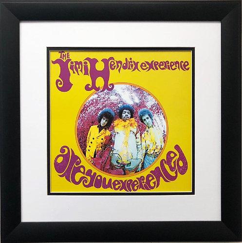 """The Jimi Hendrix Experience"" New FRAMED Print"
