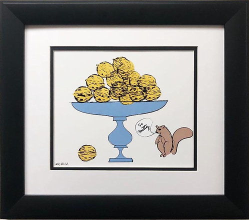 "Andy Warhol ""So Nutty"" CUSTOM FRAMED Pop Art Lithograph"