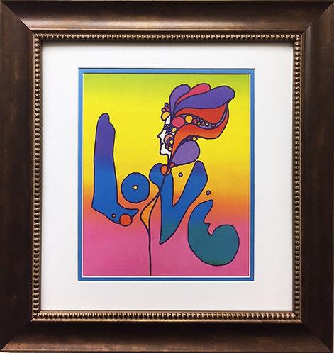 """Peter Max """"Love"""" (1968)"""