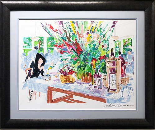 """LeRoy Neiman """"California Cuisine"""" Framed Signed Serigraph"""