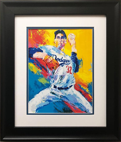 "LeRoy Neiman ""Sandy Koufax"" FRAMED New Art Print"