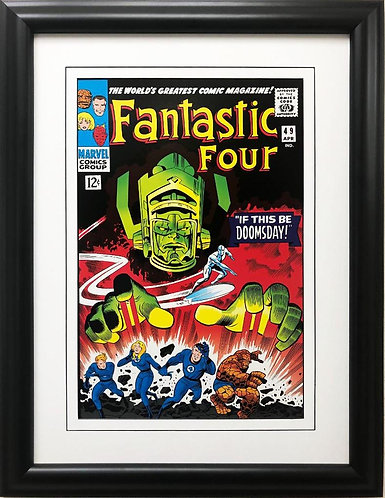 "Marvel ""Fantastic Four"" #49 If This Be Doomsday Framed Comic Book Poster Art"