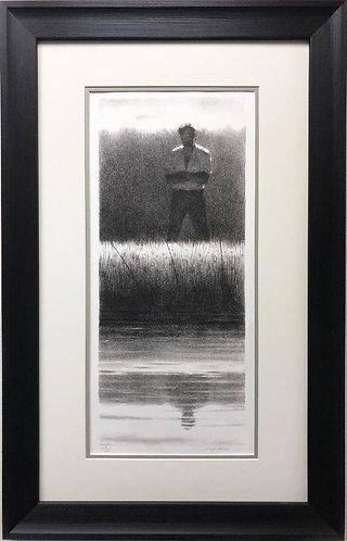 """Joseph Hirsch """"Reflections"""" New CUSTOM FRAMED Art"""