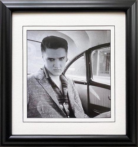"Elvis Presley ""In A Car NYC, NY"" Framed Litho Art"