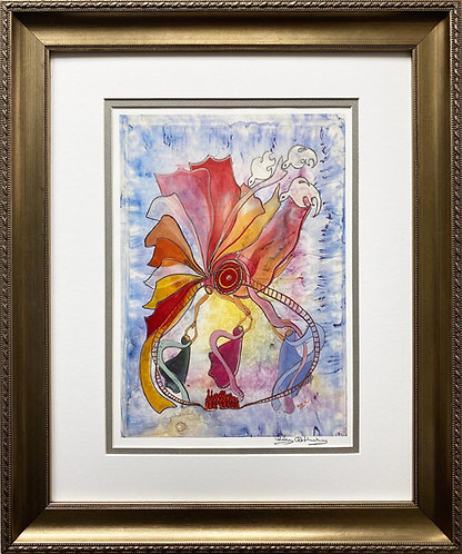 """Rothenberg """"New Heavens and a New Earth"""" FRAMED Signed Art"""