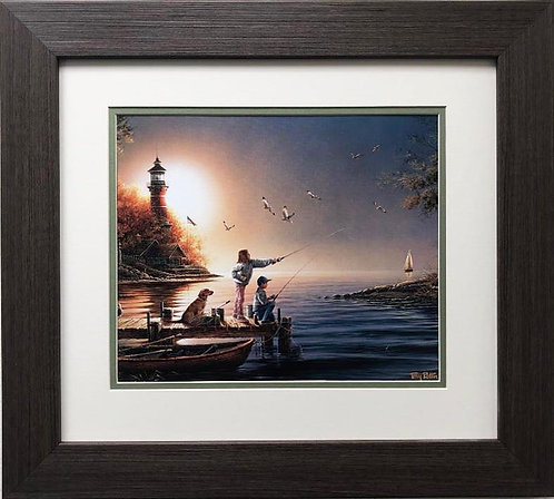 "Terry Redlin ""From Sea to Shining Sea"" FRAMED  Art"