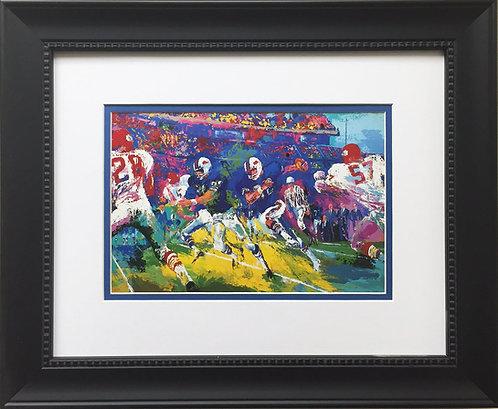 "LeRoy Neiman ""OJ Simpson - Buffalo Bills"" CUSTOM FRAMED ART Football Heisman"
