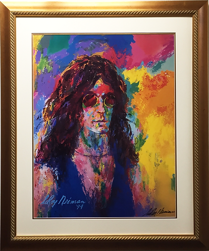 """LeRoy Neiman """"HOWARD STERN"""" Lithograph HAND SIGNED Newly CUSTOM FRAMED SOLD OUT"""