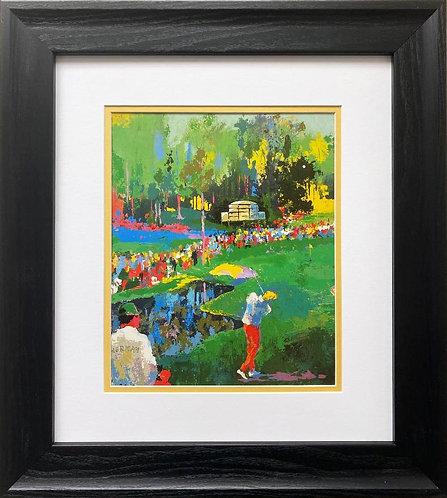 "LeRoy Neiman ""The Masters - Augusta National"" FRAMED Art Print"