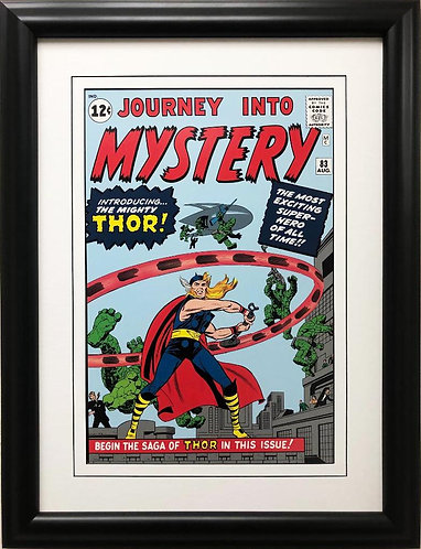 "Marvel ""Journey into Mystery Introducing the Mighty Thor"" #83 Framed Art"