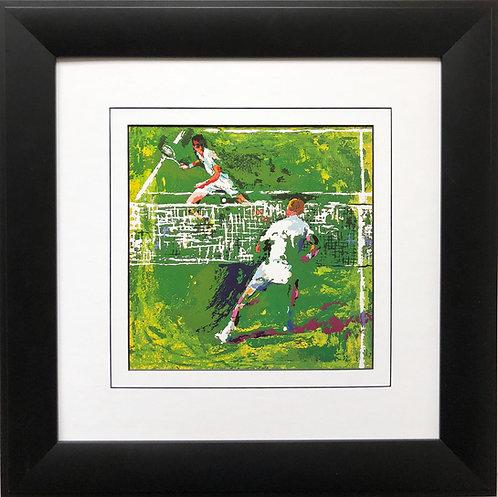 """LeRoy Neiman """"Tennis Players""""   Art Print Tennis Match Court Sports"""