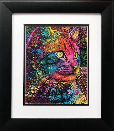 "Dean Russo ""Felis"" CUSTOM FRAMED Art"