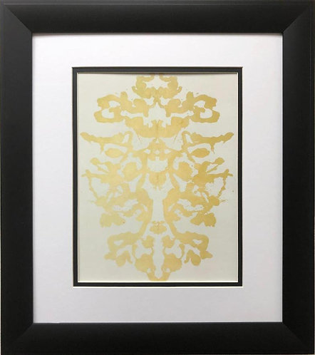 "Andy Warhol ""Rorschach 4"" 1984 CUSTOM FRAMED Pop Art"