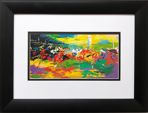 "LeRoy Neiman ""Kentucky Derby"" Horse Race Racing NEW Art Print Races Jockey"