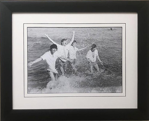 """The Beatles Collection """"Warm Miami Seas"""" Framed Art Poster"""