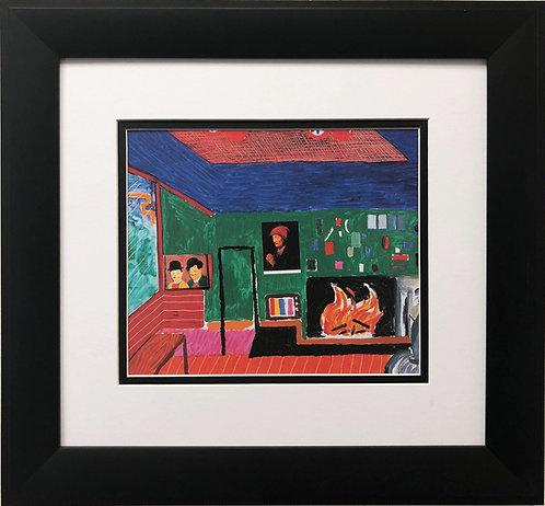 "David Hockney ""Hollywood Hills House '80"""