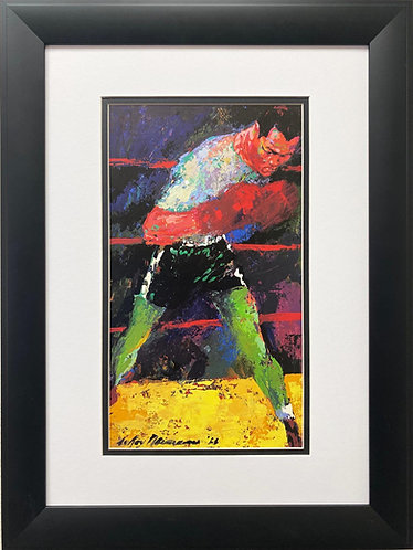 "LeRoy Neiman ""Jose Torres"" FRAMED Art Print"