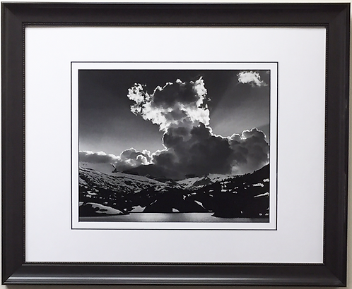 "Ansel Adams ""Evening Cloud"""
