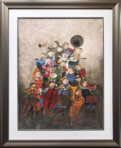 """Graciela Rodo Boulanger """"Ode a la Algeria""""  Litho NEW FRAMED ART"""