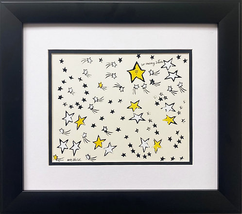 "Andy Warhol ""So Many Stars"" Newly CUSTOM FRAMED Matted Pop Art"