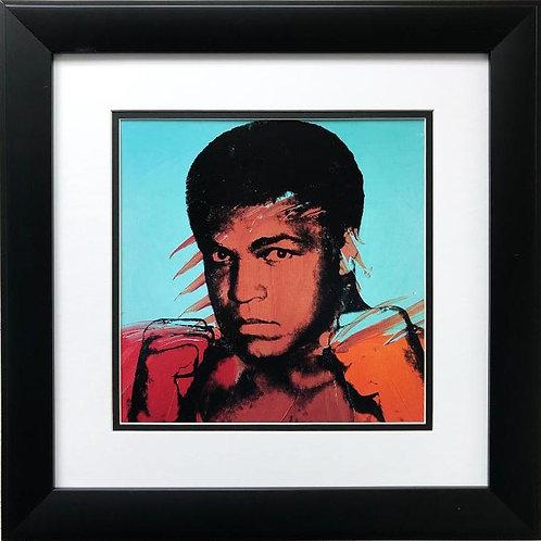 "Andy Warhol ""Muhammad Ali"" FRAMED Iconic Pop Art"