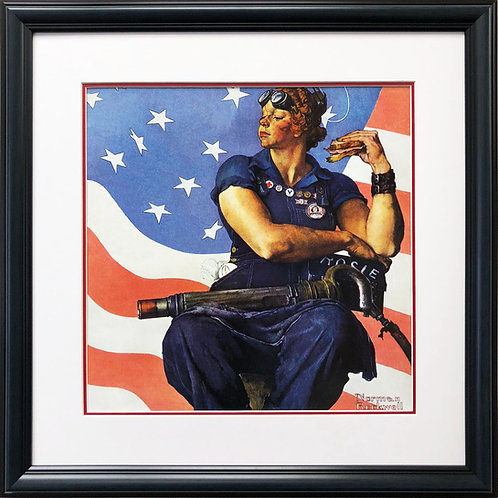 "Norman Rockwell ""Rosie the Riveter"""