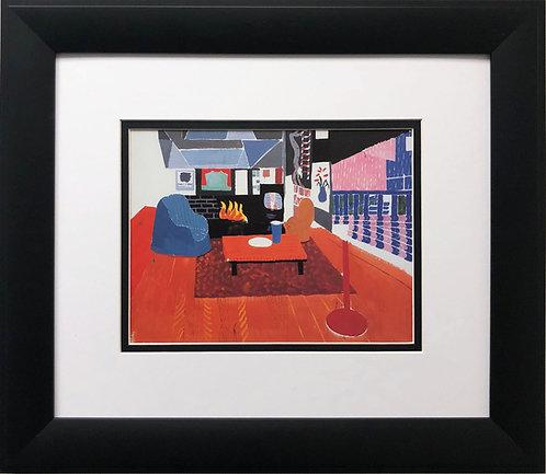 "David Hockney ""Studio, Hollywood Hills House"""