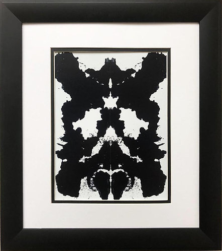 "Andy Warhol ""Rorschach"" 1984 CUSTOM FRAMED Pop Art"