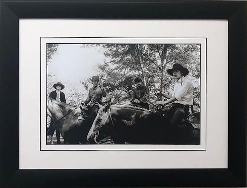"""The Beatles Collection """"Cowboys"""" Framed Poster"""