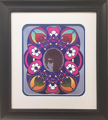 "Peter Max ""Bob Dylan"" (1967)"