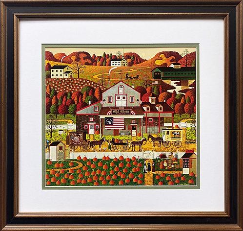 "Charles Wysocki ""Old Glory Farms"" New FRAMED Art"