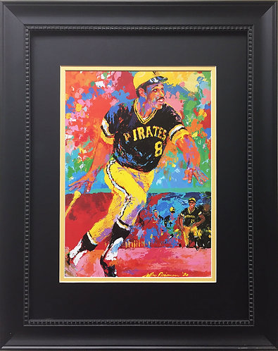 "LeRoy Neiman ""Willie Stargell"" NEWLY CUSTOM FRAMED ART PRINT Pittsburgh Pirates"