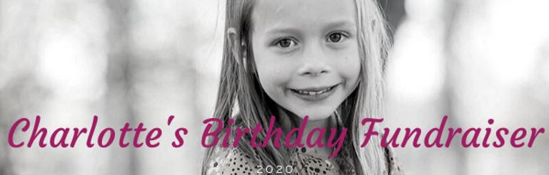 Charlotte's Birthday Fundraiser website