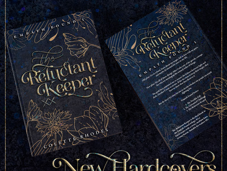 Exclusive Teaser + NEW Hardcovers
