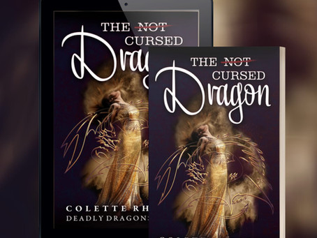 Cover Reveal: The (Not) Cursed Dragon