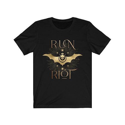 Run Riot Unisex Jersey Short Sleeve Tee