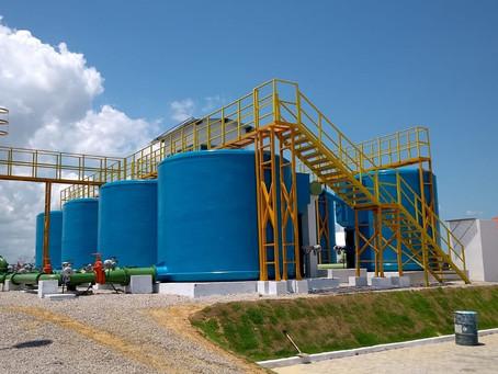 Estação de Tratamento de Água para Construtora Granito em Cascavél -  CE.