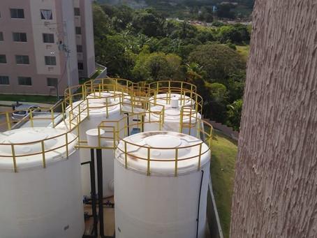 Residencial Alto do Picuaia, em Lauro de Freitas - BA, recebe estação de tratamento nesta semana.