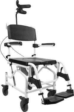 Wózek inwalidzki odchylany