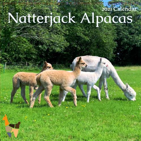 Natterjack Alpacas 2021 Calendar