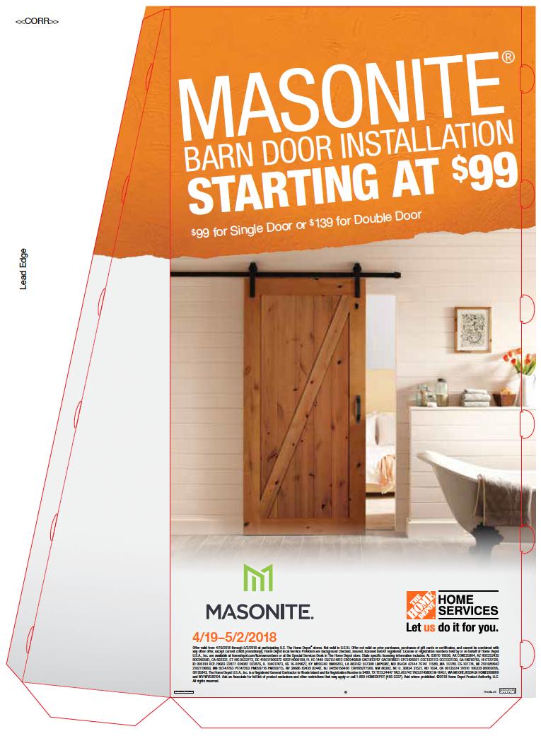 Masonite Barn Doors