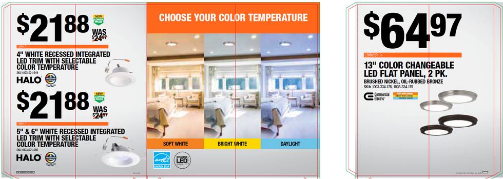 Adjustable Temperature Lighting