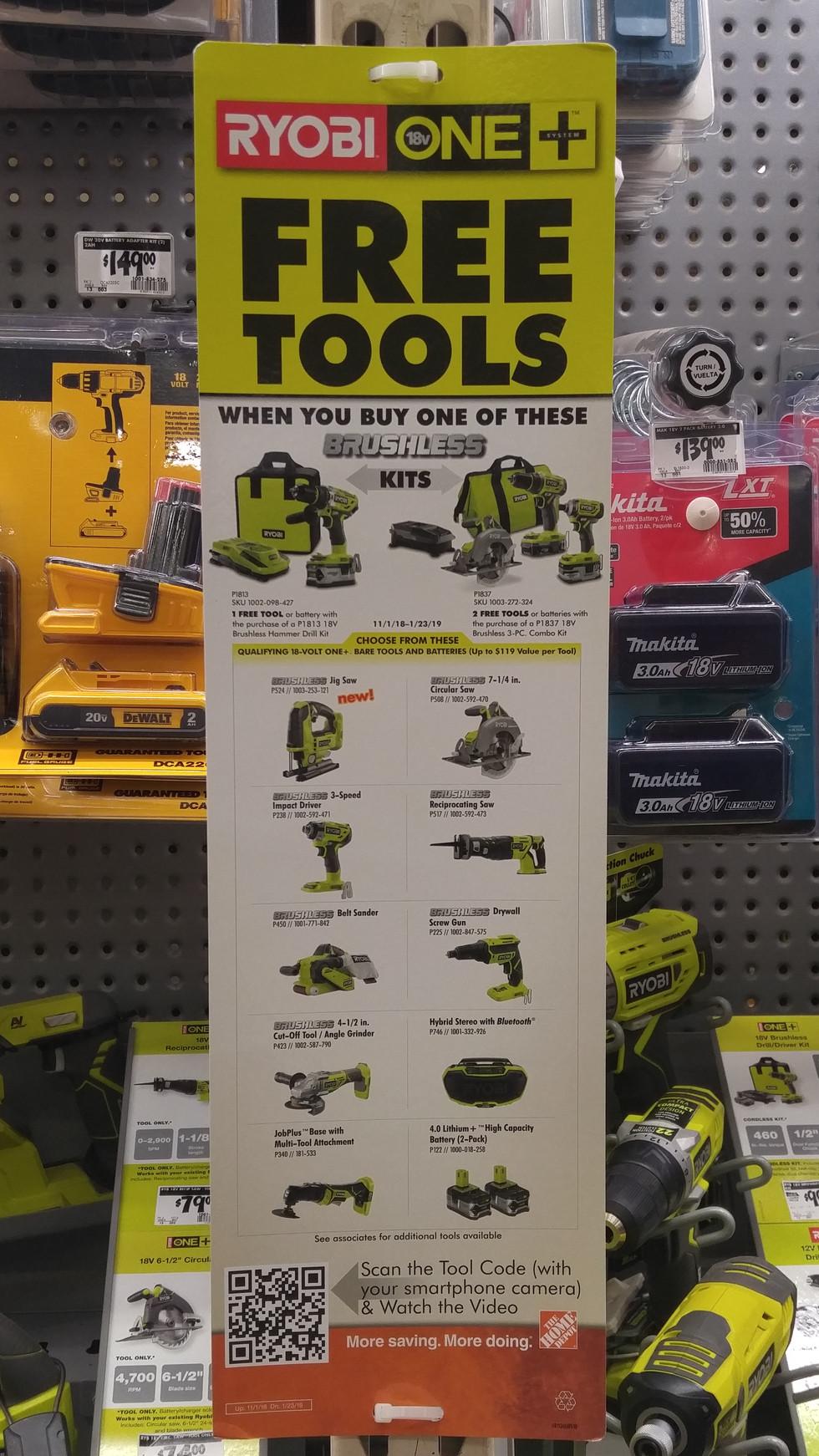Tool Offer