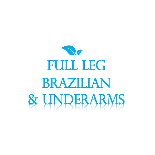 Essentials Package - Full Leg, Brazilian, Underarm