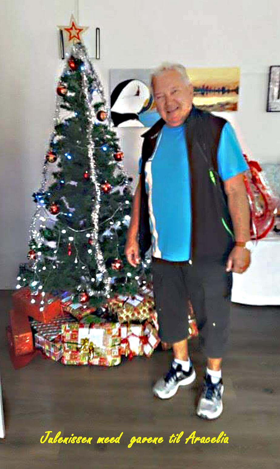 Julenissen og gavene